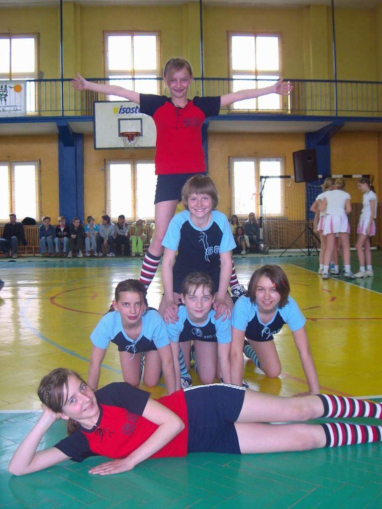 Wielkopolski turniej w aerobiku grupowym 2004